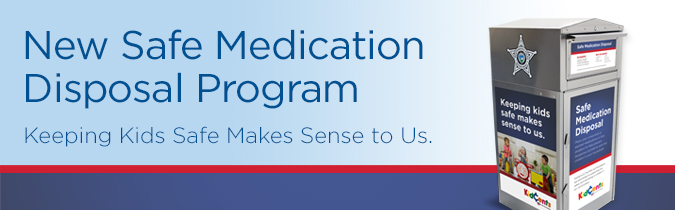 New Safe Medication Disposal Program